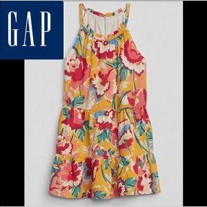 Baby Gap Floral Halter Dress 5T NWT